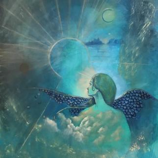 Awake north wind, oil on canvas