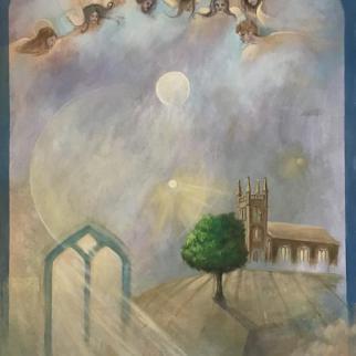 Light life, oil on canvas