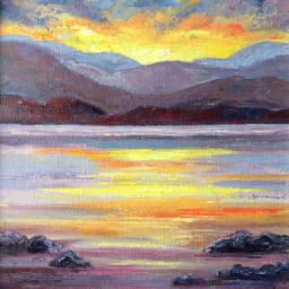 Oil on canvas, 15 x 15cm
