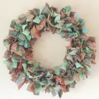 Soft Scottish wool wreath