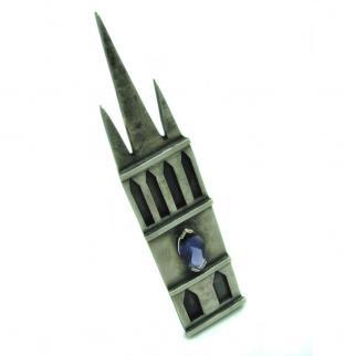 Bespoke silver kiltpin - Glasgow uni