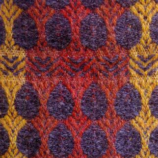 Shetland wool furnishing fabric.