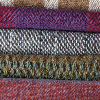 Handwoven samples.