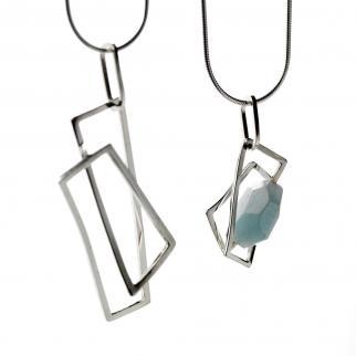 Genna Delaney - component silver pendants