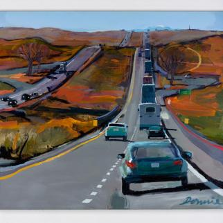 Route 66 by Kate Downie