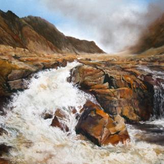 Eileen Gardner Tumbling Waters in Glencoe