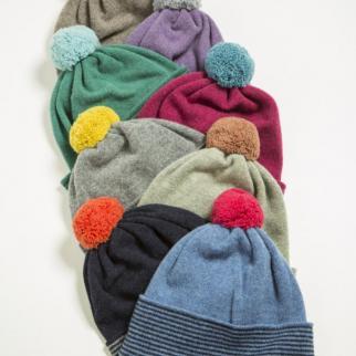Lambswool Pom Pom Hats