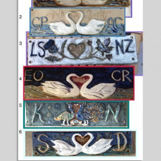 Examples of Marriage Lintels
