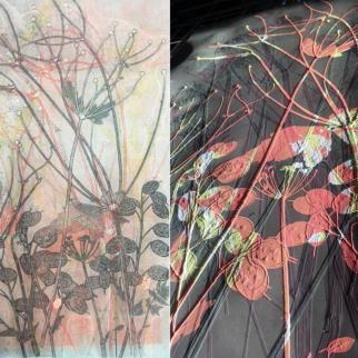 Plant Mono Prints