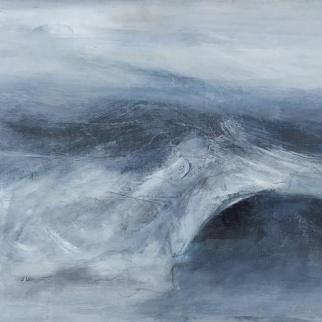 Lindsay Mathers wild sea painting